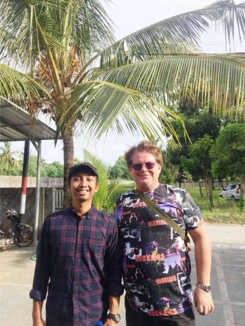 Meeting with Mr. Toni Ishijima in Kuta - Lombok