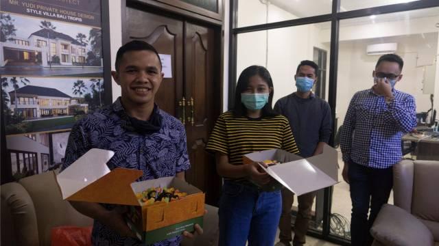 Perayaan Acara Ulang Tahun Tim Emporio Architect Bali