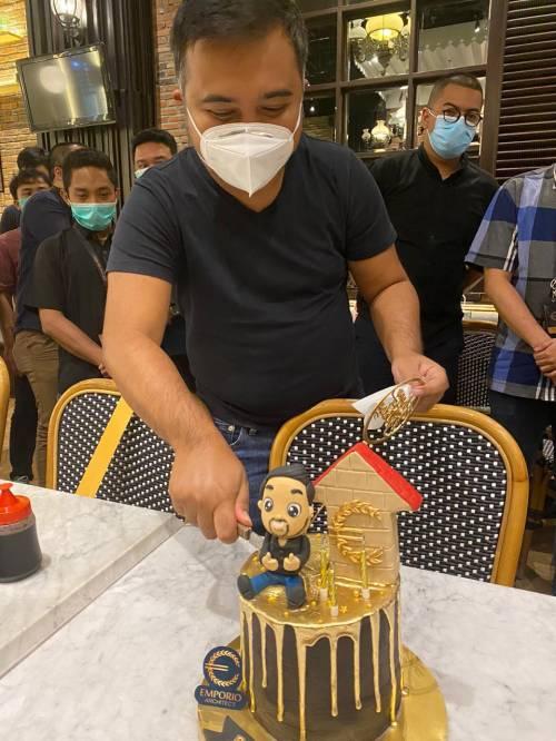 Perayaan Ulang Tahun Owner Emporio Architect di Leko, Lotte Shopping Avenue Jakarta
