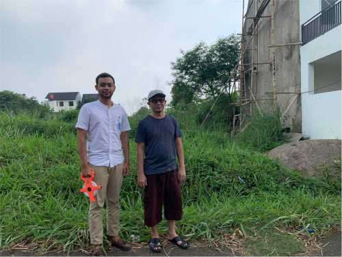 Survey lokasi bapak Gusnadi Bandung