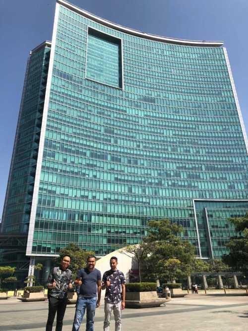 Kunjungan Kerja ke Kantor Baru Emporio Architect di Regus, WTC Bangalore, India