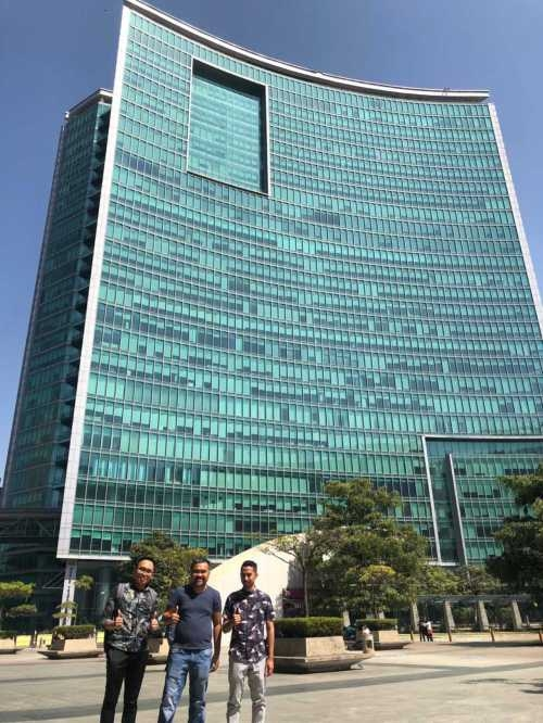 Work Visit to New Office of Emporio Architect in Regus, WTC Bangalore, India