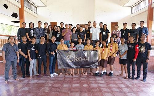 Tim Emporio Architect Bali Melakukan Kegiatan Amal ke Yayasan Yatim / Piatu Yasa Kerti Karangasem