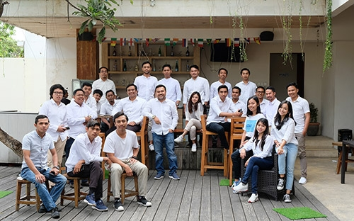 Bali Emporio Architect Team Performs Photo Together at Ayucious, Denpasar