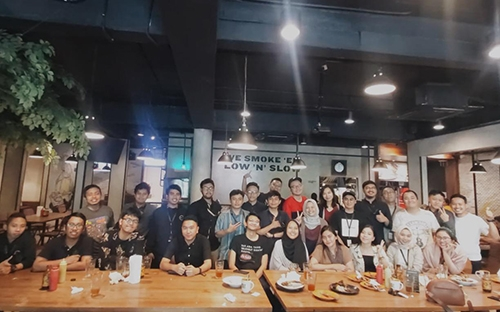 Emporio Architect Team Jakarta Dinner at Holy Smoke