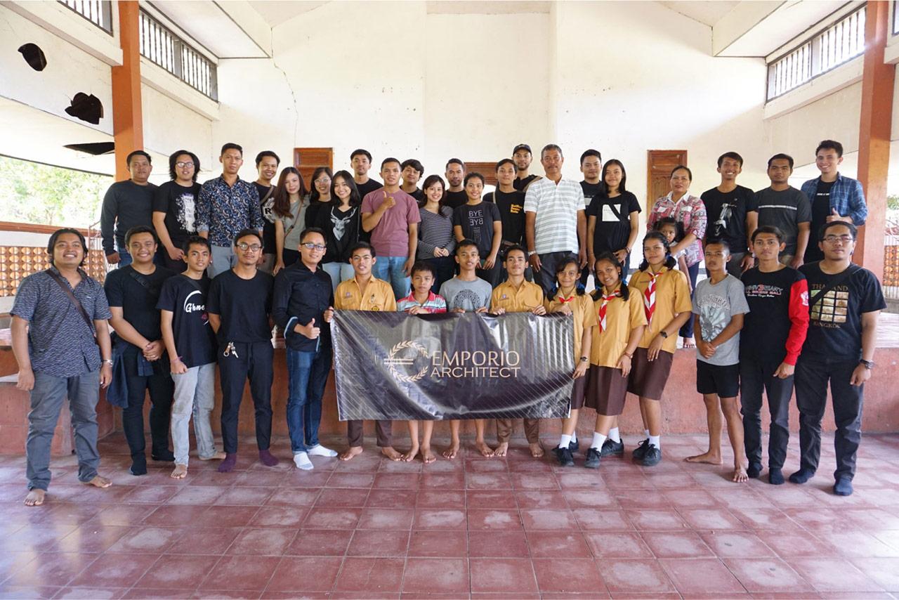 Bali Emporio Architect Team Conducts Charity Activities to Yasa Kerti Karangasem Orphanage Foundatio 1