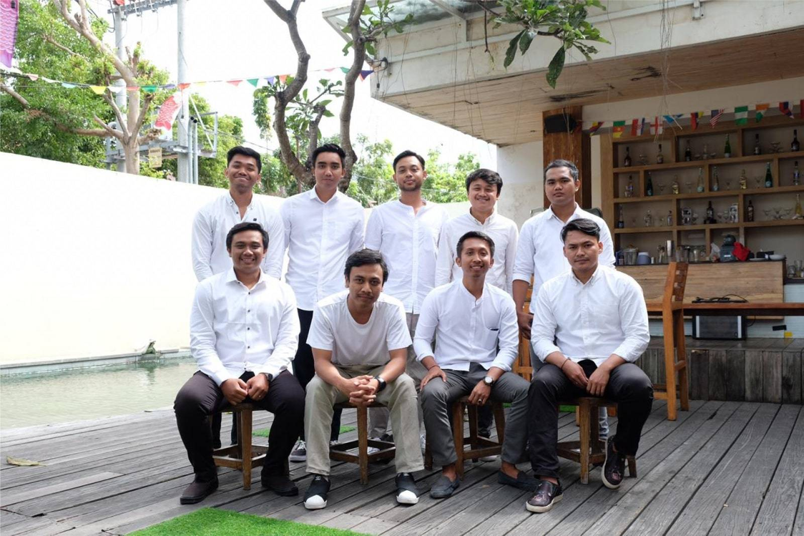 Bali Emporio Architect Team Performs Photo Together at Ayucious, Denpasar 8