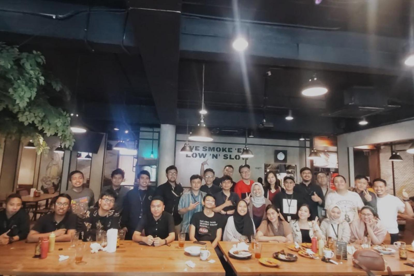 Emporio Architect Team Jakarta Dinner at Holy Smoke 1