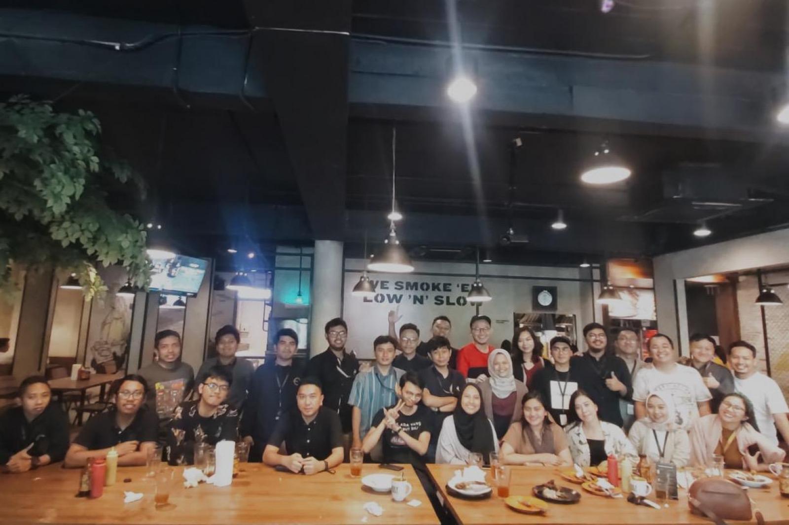 Emporio Architect Team Jakarta Dinner at Holy Smoke 2