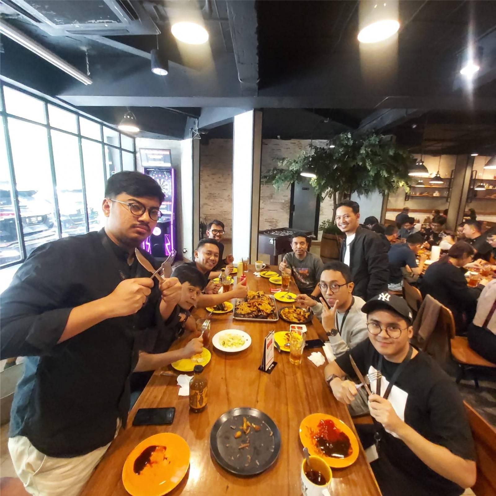 Emporio Architect Team Jakarta Dinner at Holy Smoke 4
