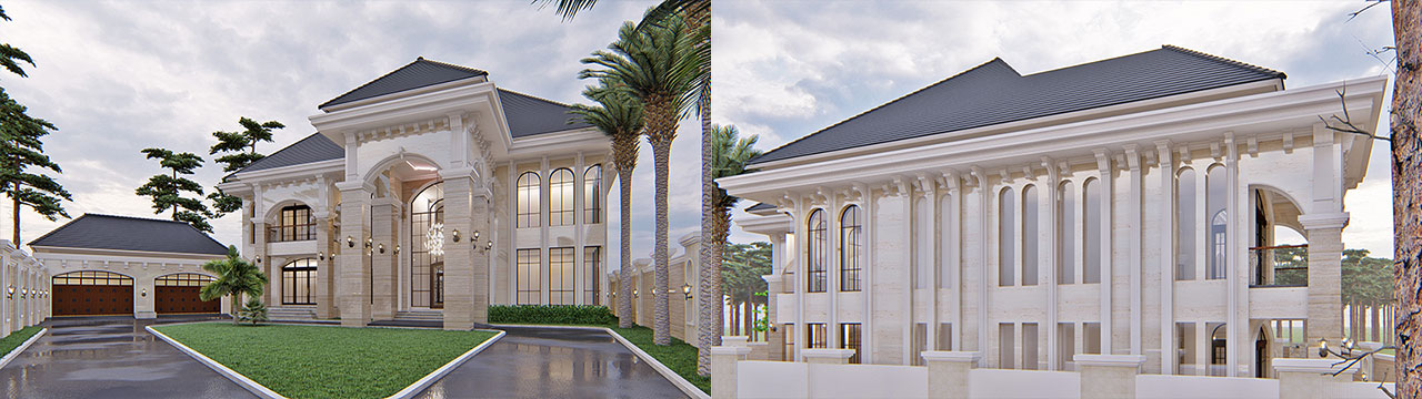 Architect Services Gambar Visual 3D Exterior