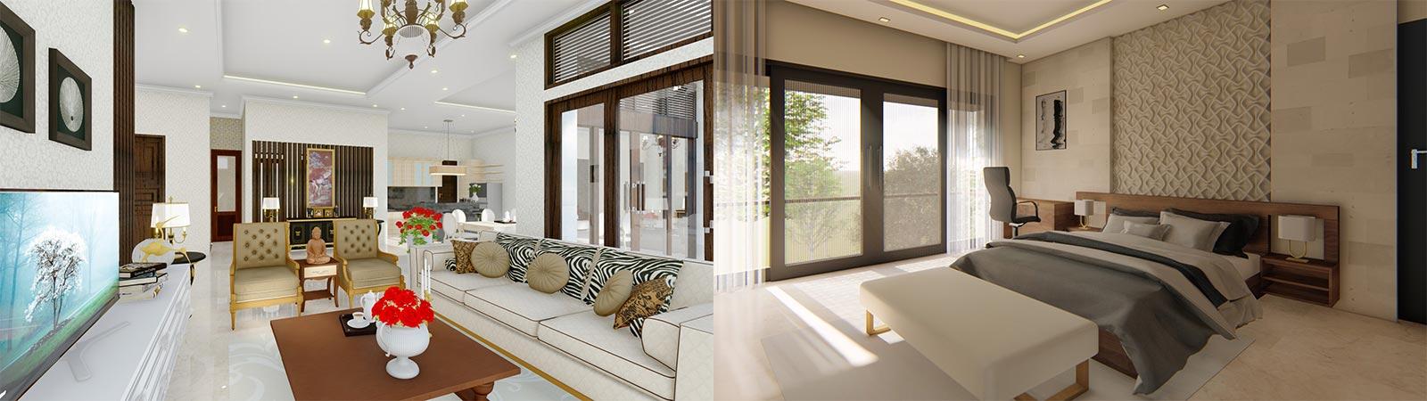 Jasa Arsitek Gambar Visual 3D Interior