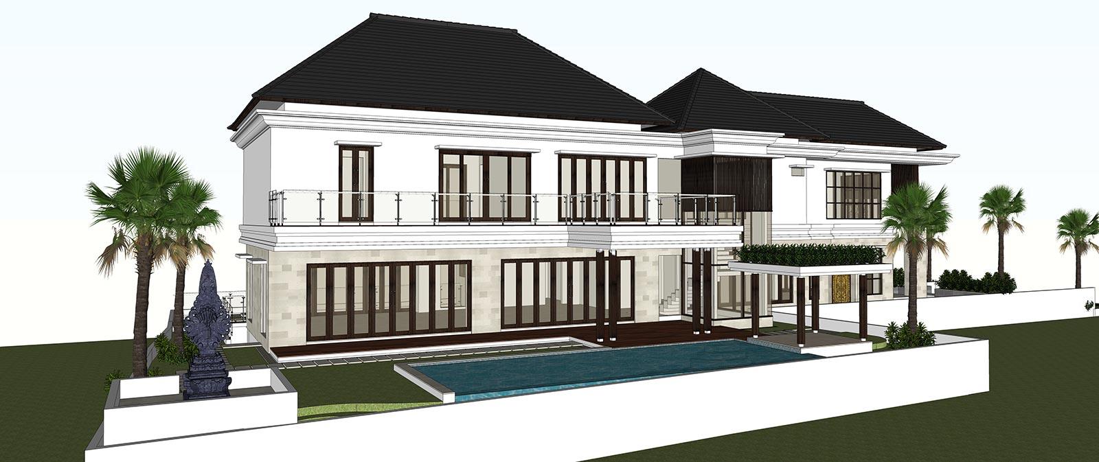 Jasa Arsitek Konsep Modeling 3D