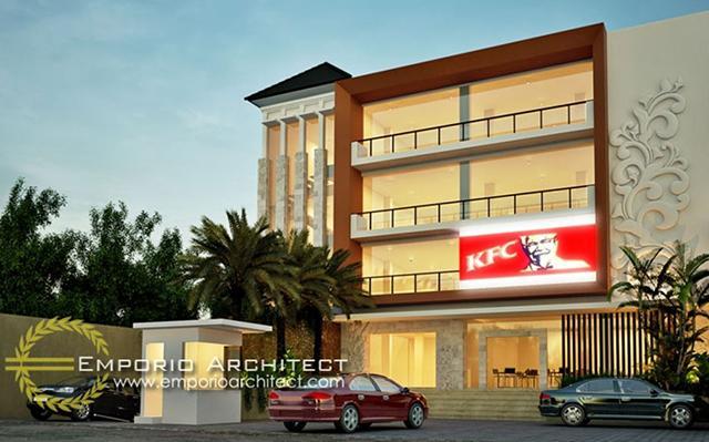 Mrs. Kondi Villa Bali Apartement 4 Floors Design - Denpasar, Bali