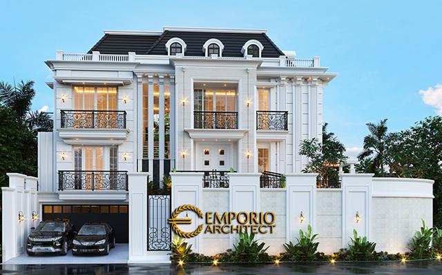 Mrs. L Classic Modern House 3.5 Floors Design - Banjarmasin, Kalimantan Selatan