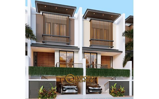 Royale Indah Kapuk Cengkareng Modern Cluster 3 Floors Design - Jakarta Barat