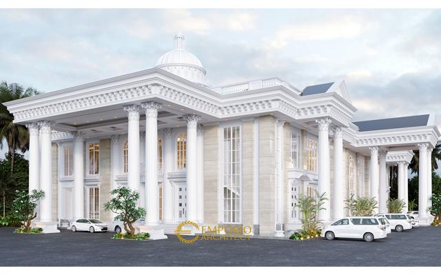 Mr. Yudi Classic Convention Hall 2 Floors Design - Jambi