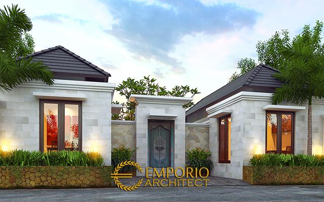 Mr. Wahyu Villa Bali Guest House 1 Floor Design - Malang