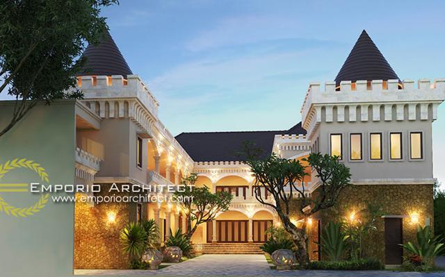 Mr. Yudi Villa Bali Hotel 2 Floors Design - Denpasar, Bali