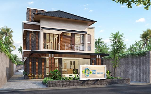 Desain Klinik Mitra Santosa Modern 2 Lantai di  Bandung, Jawa Barat