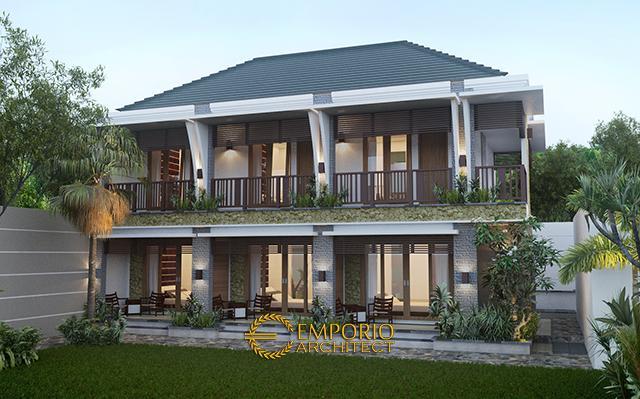 Mr. Wayan Sudarma Villa Bali Boarding House 2 Floors Design - Denpasar, Bali
