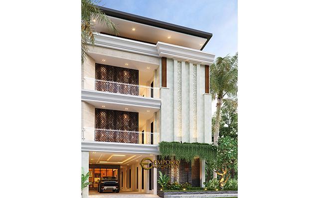 Desain Kost Villa Bali 3 Lantai Bapak dr. Rivandi di  Bali