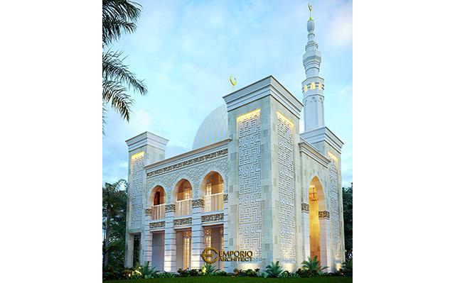 Desain Masjid Classic 2 Lantai Riyadhuul Ulum di  Jakarta