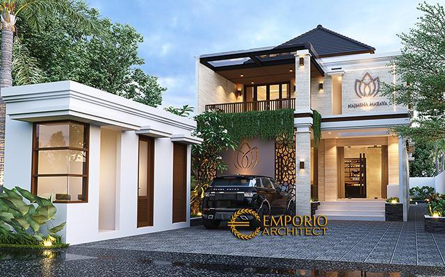 Najmina Beauty Care Modern 2 Floors Design - Blora, Jawa Tengah
