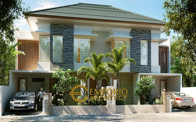 Mr. Taufan Villa Bali Residences 2 Floors Design - Jawa Tengah