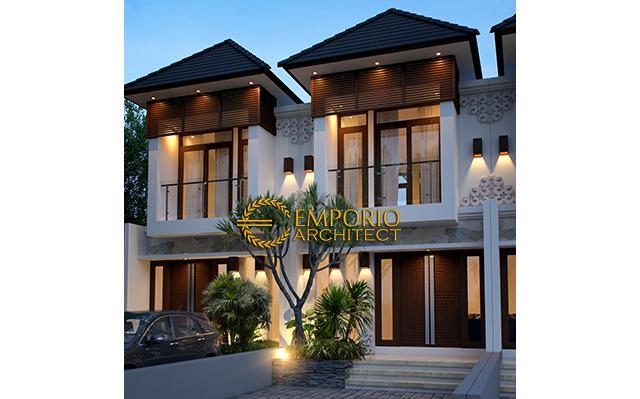 Desain Perumahan Villa Bali 2 Lantai Bapak Toga di  Jakarta