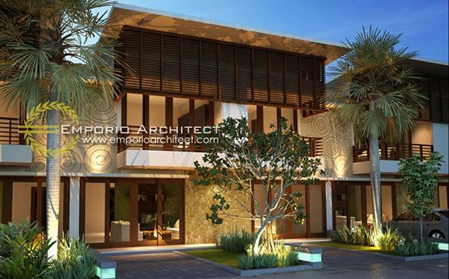 Mr. David Salim Villa Bali Residence 2 Floors Design - Badung, Bali