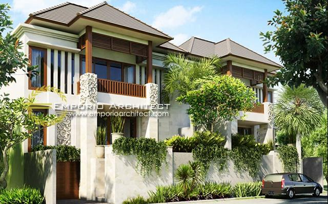 Mr. Elias Villa Bali Residence 2 Floors Design - Yogyakarta