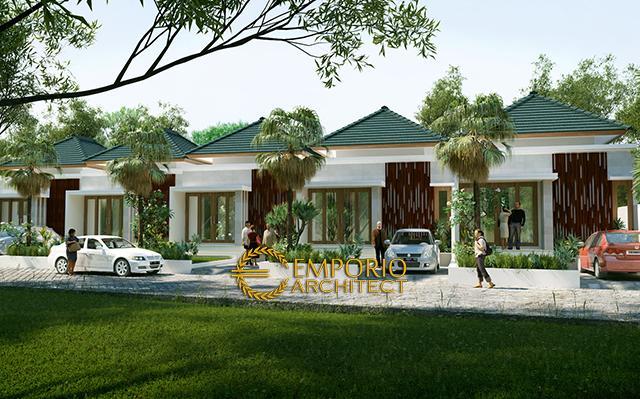 Mr. Wardana Villa Bali Residence 1 Floor Design - Denpasar, Bali
