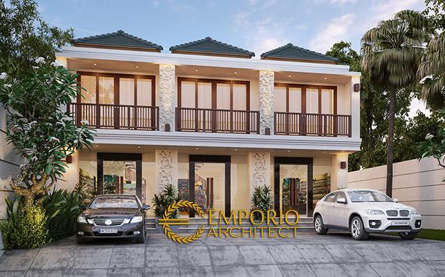 Villa Bali Shop House 2 Floors Design - Denpasar, Bali
