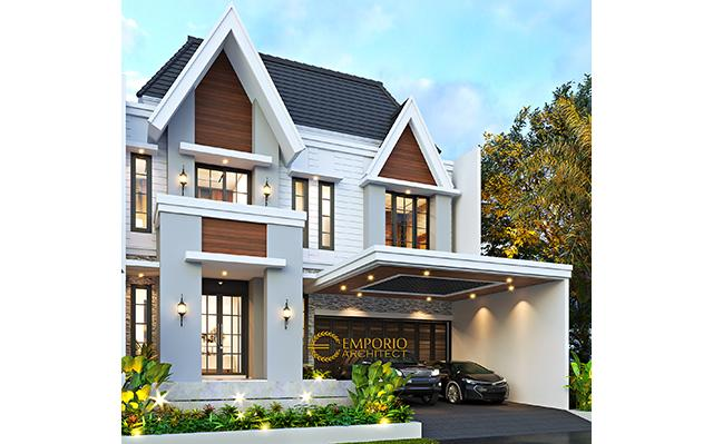 Mr. Bowo American Classic House 2.5 Floors Design - Tegal, Jawa Tengah