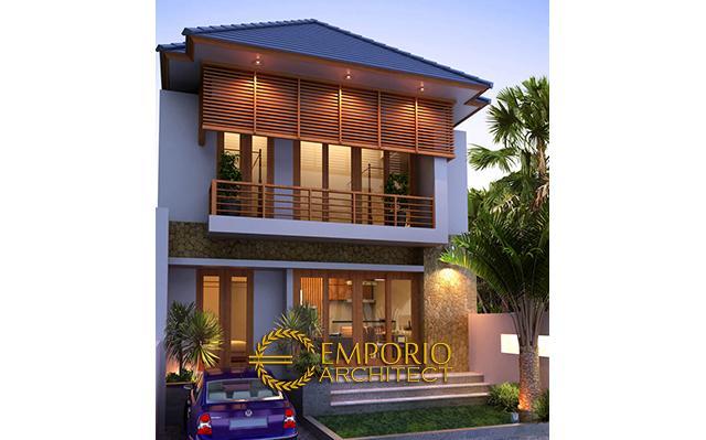 Mr. Ari Sundoro Villa Bali House 2 Floors Design - Denpasar, Bali