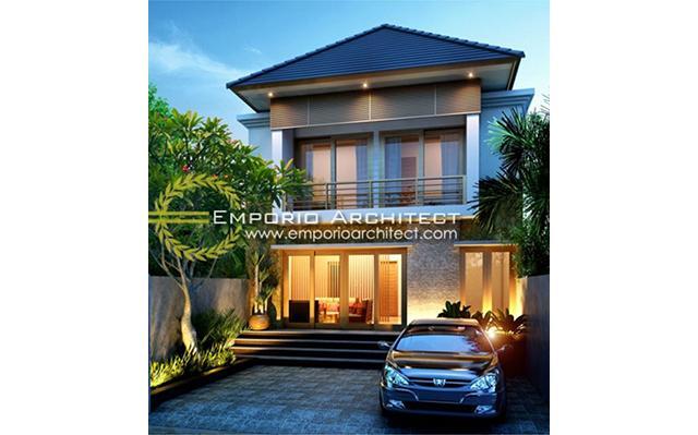 Desain Rumah Villa Bali 2 Lantai Bapak Artana II di  Denpasar, Bali