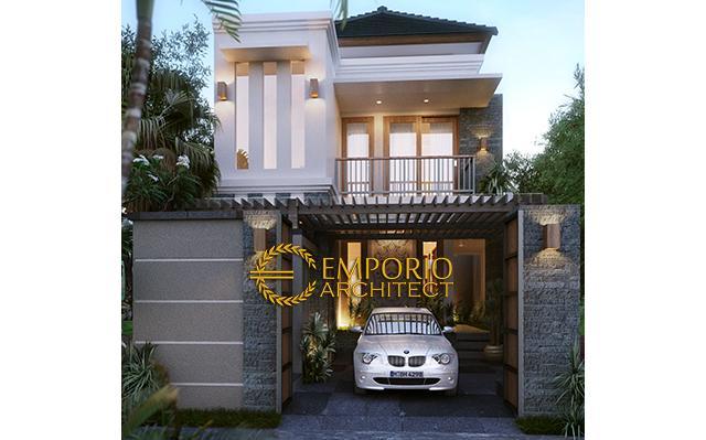Desain Rumah Villa Bali 2 Lantai Bapak Agung Cipta di  Denpasar