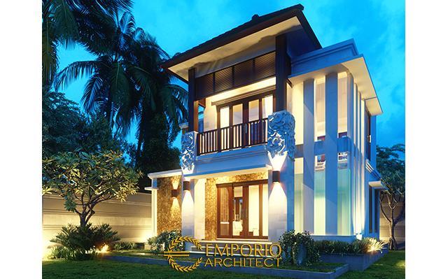 Desain Rumah Villa Bali 2 Lantai Bapak Agus di  Denpasar, Bali
