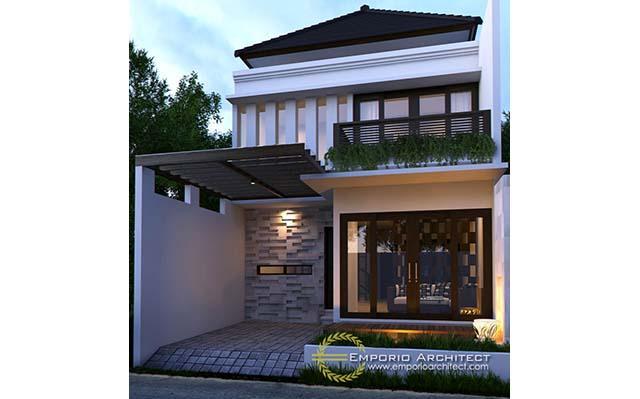 Desain Rumah Villa Bali 2 Lantai Bapak Ahmad Syauqi di  Jakarta