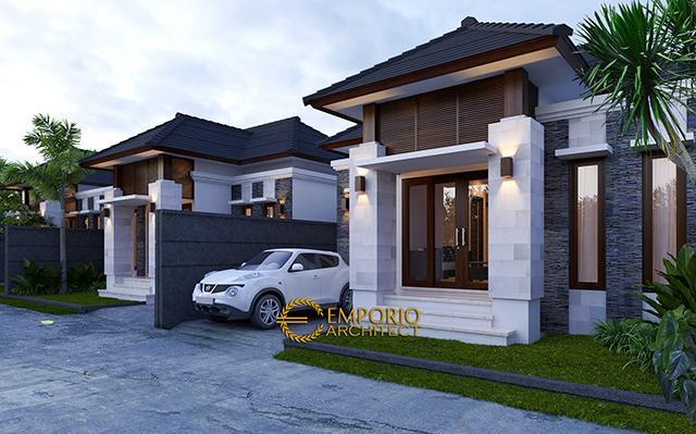 Wahanakarsa Swandiri Villa Bali Residence 1 Floor Design - Pekanbaru