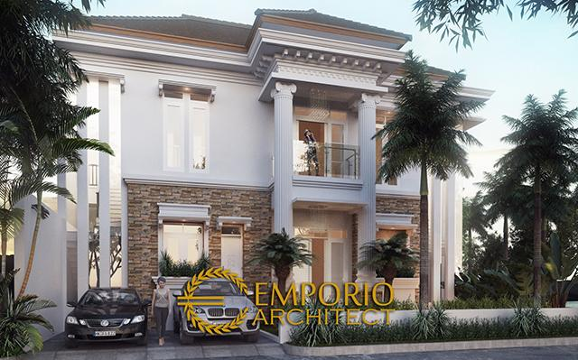 Mr. Endra Classic House 2 Floors Design - Jakarta