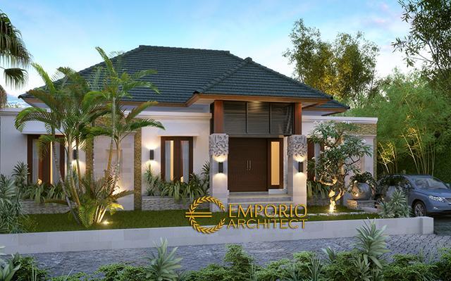 Desain Rumah Villa Bali 1 Lantai Bapak Ferry di  Papua