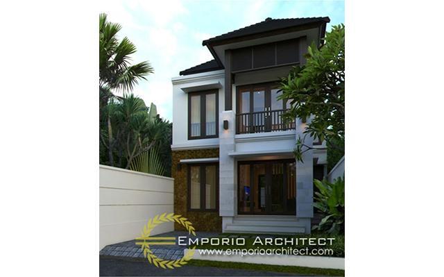 Desain Rumah Villa Bali 2 Lantai Bapak Jeremi di  Sanur, Bali