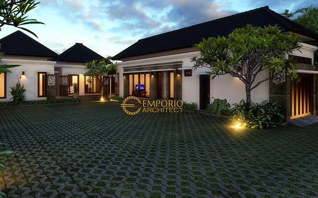 Desain Rumah Villa Bali 1 Lantai Bapak Made Wardana di  Denpasar, Bali