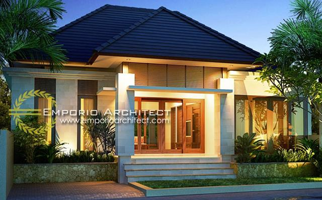 Mr. Basuki Villa Bali House 1 Floor Design - Lombok