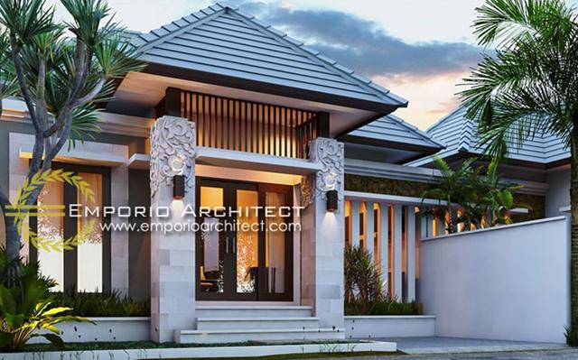 Desain Rumah Villa Bali 1 Lantai Bapak Beny di  Singaraja, Bali