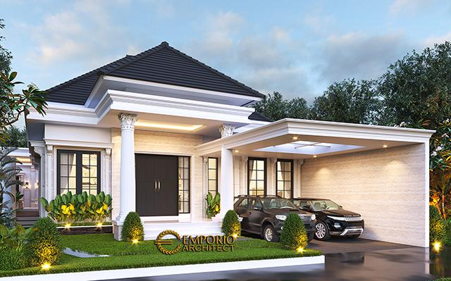 Mr. Wandaniel Classic House 1 Floor Design - Sumatera Utara