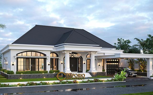 Desain Rumah Classic 1 Lantai Bapak Sulthan di  Palembang, Sumatera Selatan