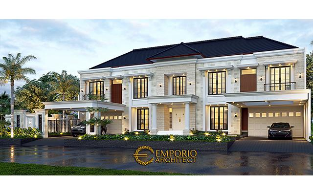 Mr. Kurnia Classic House 2 Floors Design - Jakarta
